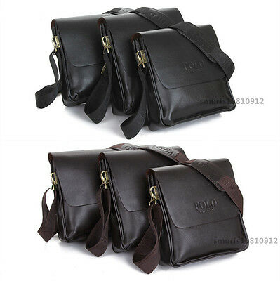 Fashion Men's Genuine Leather Shoulder Bag Messanger Briefcases bag