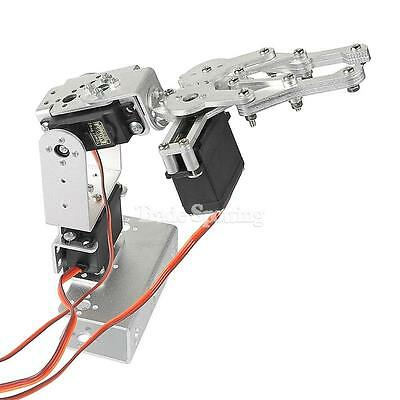 DIY 3DOF Robot Arm Clamp, 3 Aixs Robot Arm Claw with Servos for Arduino Control