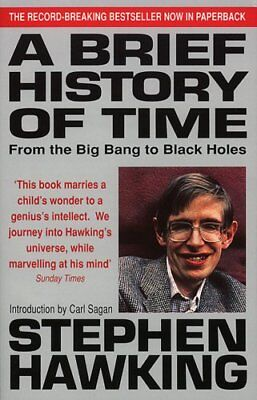 A Brief History Of Time: From Big Bang To Black... by Hawking, Stephen Paperback