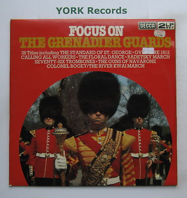 BAND OF THE GRENADIER GUARDS - Focus On .... -Ex Double LP Record Decca FOS 47/8