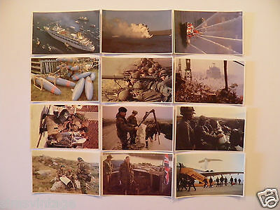 12 Military Postcards Falklands War  - Lot 4 - See other Lots listed