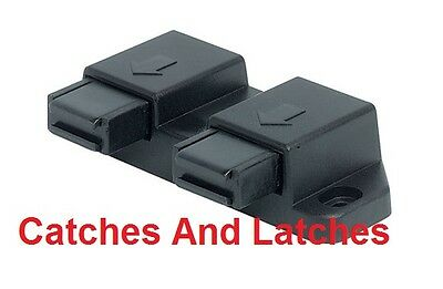 Magnetic Pressure Catches Touch Push for Double Glass Cabinet Kitchen Door PACKS