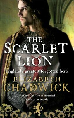 The Scarlet Lion (William Marshal) by Chadwick, Elizabeth Paperback Book The