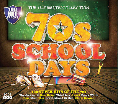 Various Artists The Ultimate Collection: 70s School Days CD ***NEW***