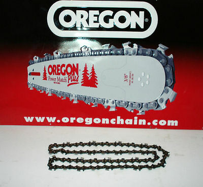"""14"""" oregon chainsaw chain to fit HOMELITE petrol chainsaws 52 x 3/8 1.3"""