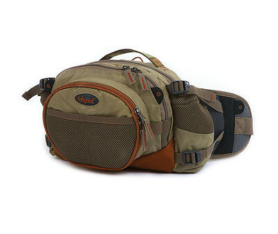 NEW FISHPOND WATERDANCE GUIDE PACK DRIFTWOOD lightweight padded lumbar chest