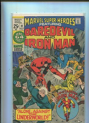Marvel Super-Heroes  #31  Very Good to Fine Or Better  Marvel Comics CBX1O