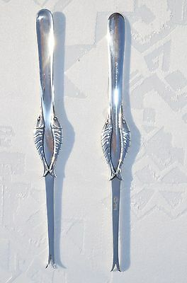 Lobster Forks Ornamental No 86 Georg Jensen Sterling Silver Sells In Set A Six P