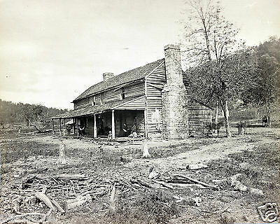 John Rose (Ross) House-Ringgold, GA Hd. of General Granger-Battle of Chickamauga