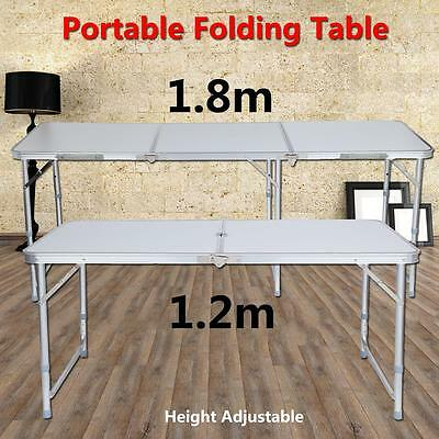 6ft OR 4ft Folding Table Banquet Picnic Party Garden Outdoor BBQ Camping