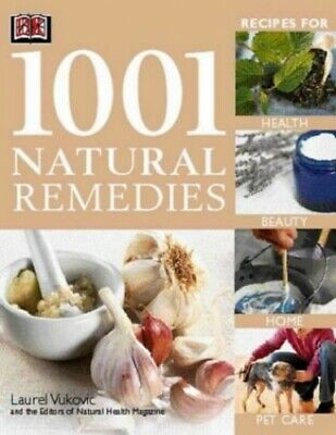 1001 Natural Remedies by Vukovic, Laurel Paperback Book The Cheap Fast Free Post