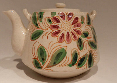 Vintage Hand Painted Ceramic Tea Pot Made in Japan