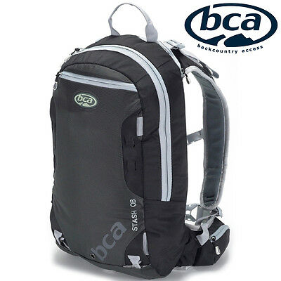 Arctic Cat BCA Stash OB Snowmobile Backpack Hydration Compatible Black, 6639-408