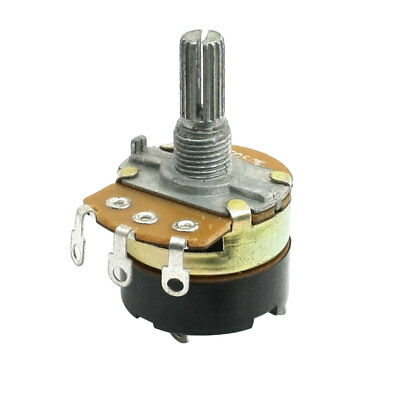B250K 250K Ohm Single Turn Switch Carbon Variable Potentiometer