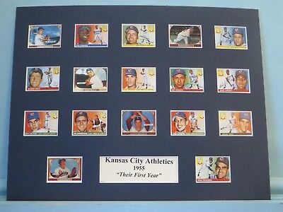 1955 Kansas City Athletics - Their First Year in Kansas City
