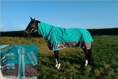 Equidor Lakeland Lightweight No Fill Turnout Rug Full Neck Combo Horse And Pony