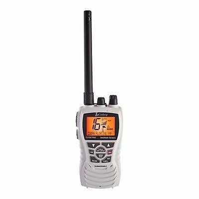 Cobra Floating Handheld VHF Radio WHITE MRHH350W FLT Boat Marine RV Camper MD