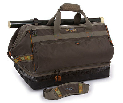 NEW FISHPOND CIMARRON WADER/DUFFEL BAG fly fishing ventilated changing mat large