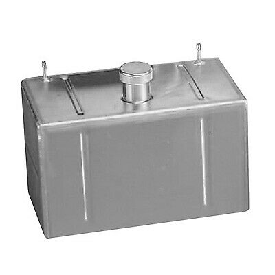 A H Fabrications 4 Gallon Capacity Aluminium Fuel/Petrol Tank - 490 x 150 x 250