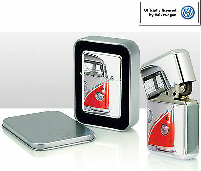 VW  Camper Van Steel Windproof Cigarette Lighter - 8 designs to select from