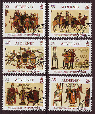 Alderney 2014 Bayeux Tapestry Set Of 6 Fine Used