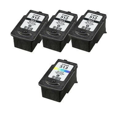 Refilled Ink Cartridge for 2x Canon PG 510 Black CL 511 Color for PIXMA MP240 AU