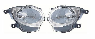 Fiat 500 2008-> Clear Front High Beam & Side Light Pair Left & Right