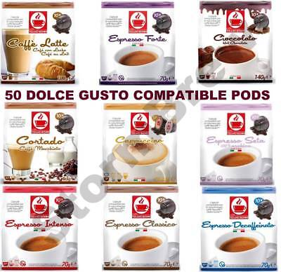 48 dolce gusto compatible coffee capsules pods cappuccino. Black Bedroom Furniture Sets. Home Design Ideas