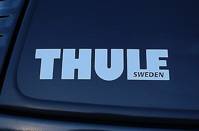 """Car Roof Rack Sticker Cut Out Vinyl Decal Thule Cycling Outdoors 5"""" To 24"""" V234"""