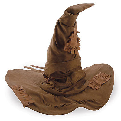 Harry Potter Hogwarts Sorting Hat Wizards Fancy Dress Up Adult Halloween Costume