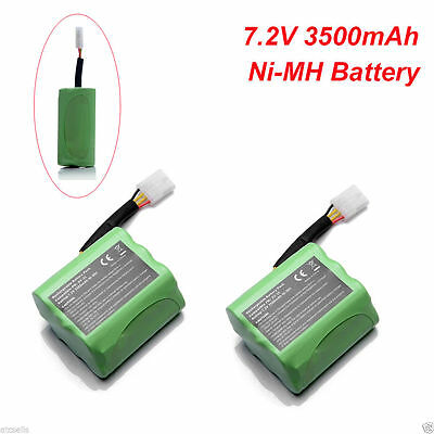 2x 7.2V Ni-MH 945-0005 Battery For Neato Robotics 945-0006 XV-11 XV-12 XV-21