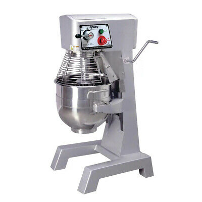 Planetary Mixer, Freestanding, Full Metal Body, 30 Litre Bowl, Commercial, Apuro