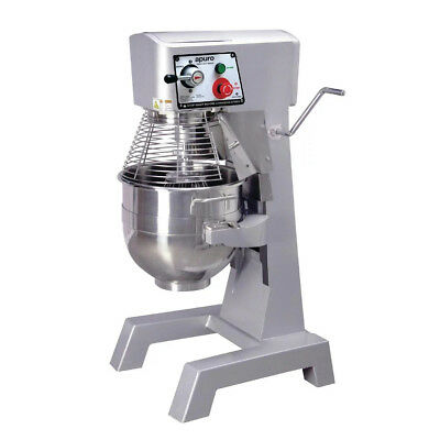Planetary Mixer, Freestanding, Full Metal Body 30 Litre Bowl, Kitchen, Apuro