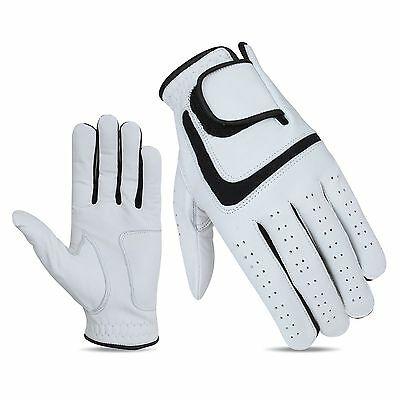 5 x JL Golf 100% cabretta leather gloves Size SMALL Mens Excellent grip
