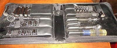 "Craftsman 1/4"" & 3/8"" Drive Socket Set with Zipper Storage Case"