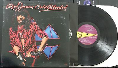 KLP103 - Rick James - Cold Blooded (6043GL) US LP in FOC + OIS, gordy