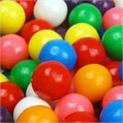 5 Lb Five Pound Dubble Bubble 1/2 Half Inch 15Mm Gumballs Bulk Candy Goody Bags