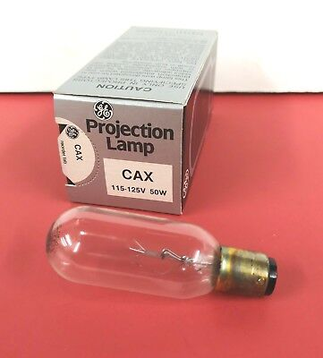 CAW CAX 50W 120V NEW Photo Projection LIGHT BULB Studio LAMP Projector NOS New