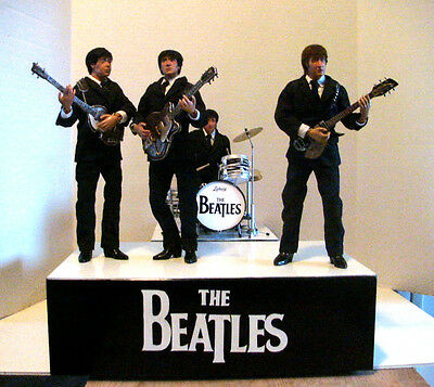 The Beatles    1/6 scale 12 '' play scale  custom  figures