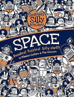 SPACE- DOODLES! PUZZLES AND ACTIVITY BOOK - New