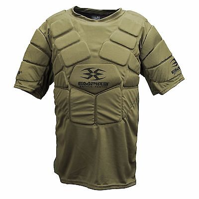 Empire Chest Protector - Olive Green - Paintball