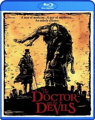 THE DOCTOR AND THE DEVILS New Sealed Blu-ray Timothy Dalton
