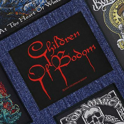 Children Of Bodom Blood Logo Woven Patch Official Merchandise