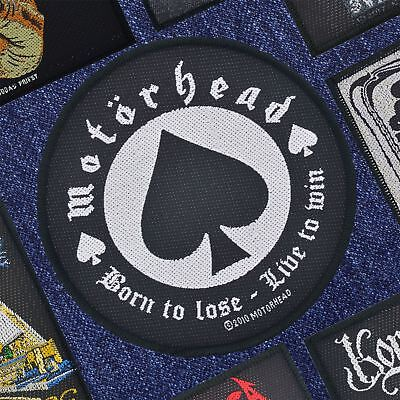 Motorhead Born To Lose Woven Patch Official Merchandise