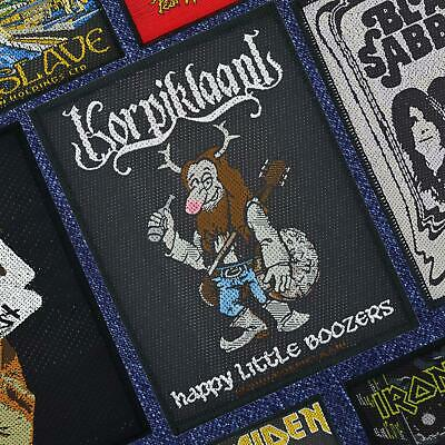 Korpiklaani Happy Little Boozer's Woven Patch Official Merchandise