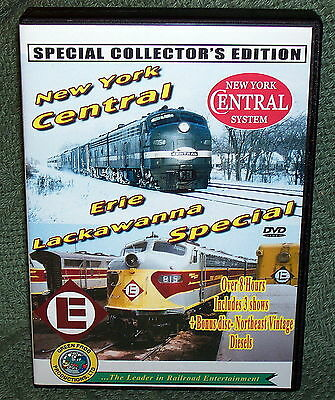 "20239 Train Video Dvd Box Set ""new York Central & Erie Lackawanna Special"""