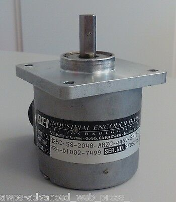 BEI Ideacod, 924-01002-7499 Incremental Encoder H25D, USED