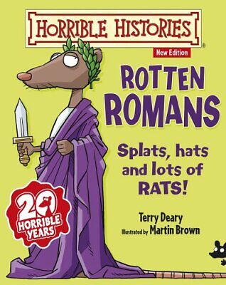 Rotten Romans (Horrible Histories) by Deary, Terry Book