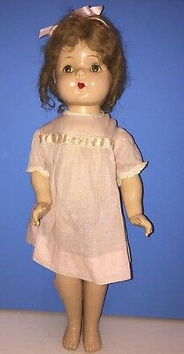 Vintage 1935 Madame Alexander Betty Face Doll Composition 20""
