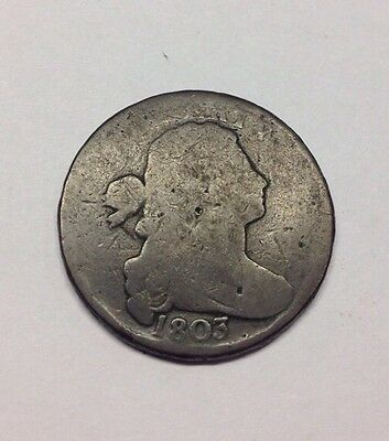 1803 Draped Bust Large Cent Penny - Small Date - One Cent - Liberty - USA -